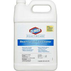 Clorox Healthcare Bleach Germicidal Cleaner Refill, 128 Ounces