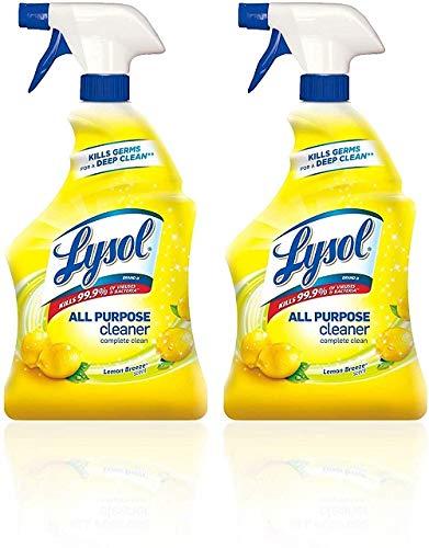 Lysol All Purpose Cleaner, Lemon Breeze, 32 oz(Pack of 2)