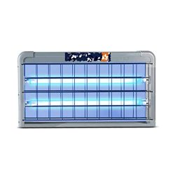 Disinfection lamp 20W / 30W / 40W UV Germicidal Deodorant Mildew and Mite Removal Ozone Quartz Tube Mobile Sterilization Lamp Home Kindergarten Cafeteria Air Purifier Hanging Germicidal Lamp