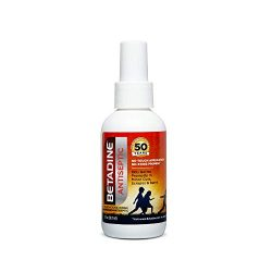 Betadine First Aid Spray 3 oz Povidone Iodine Antiseptic with No-Sting Promise (Packaging May Vary)