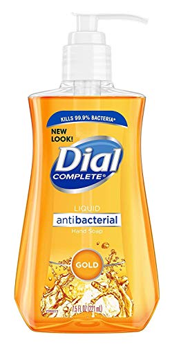 Dial Liquid Soap Anti-Bacterial Gold 7.5 Ounce Pump (221ml) (Pack of 3)