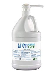 Live Germ Free Unfragrance Alcohol base Hand Sanitizer 1 Gal