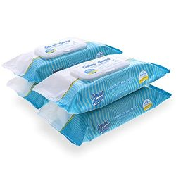 Anti-Bacterial Hand Wipes in Softpack with Dispenser, 72ct, 4 Pack (288 Wipes)