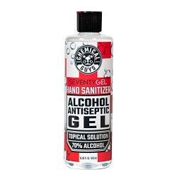 Chemical Guys HYG10316 SeventyGel Hand Sanitizer 70% Alcohol Antiseptic Gel Topical Solution, 16oz, 16. fl. oz