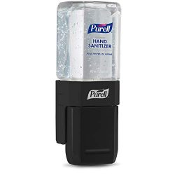 PURELL ES1 Hand Sanitizer Dispenser Starter Kit, Push-Style Dispenser with PURELL Advanced Hand Sanitizer Gel, 450 mL Refill (Pack of 1) – 4424-D6