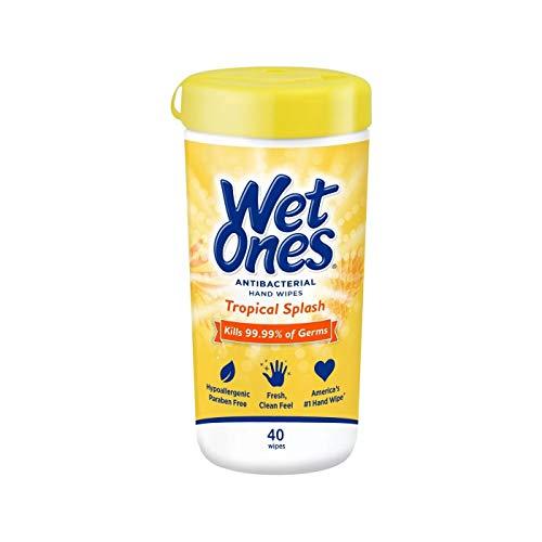 WET ONES Antibacterial Hands Wipes, Citrus 48 ea (Pack of 12)